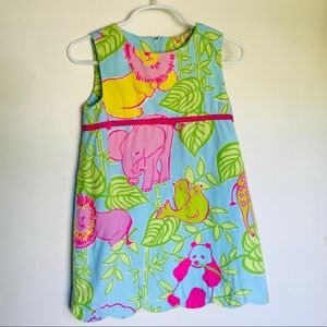 4T Lilly Pulitzer Shift Dress
